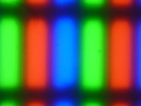 ЖК-монитор Asus PG258Q, Микрофотографии матрицы