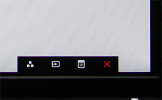 ЖК-монитор Dell UltraSharp U2715H, меню установок
