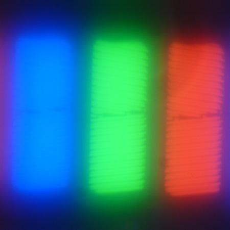 ЖК-монитор Dell UltraSharp U2715H, Микрофотографии матрицы