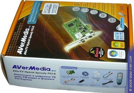 AVERMEDIA AVERTV SPEEDY PCI-E WINDOWS DRIVER DOWNLOAD