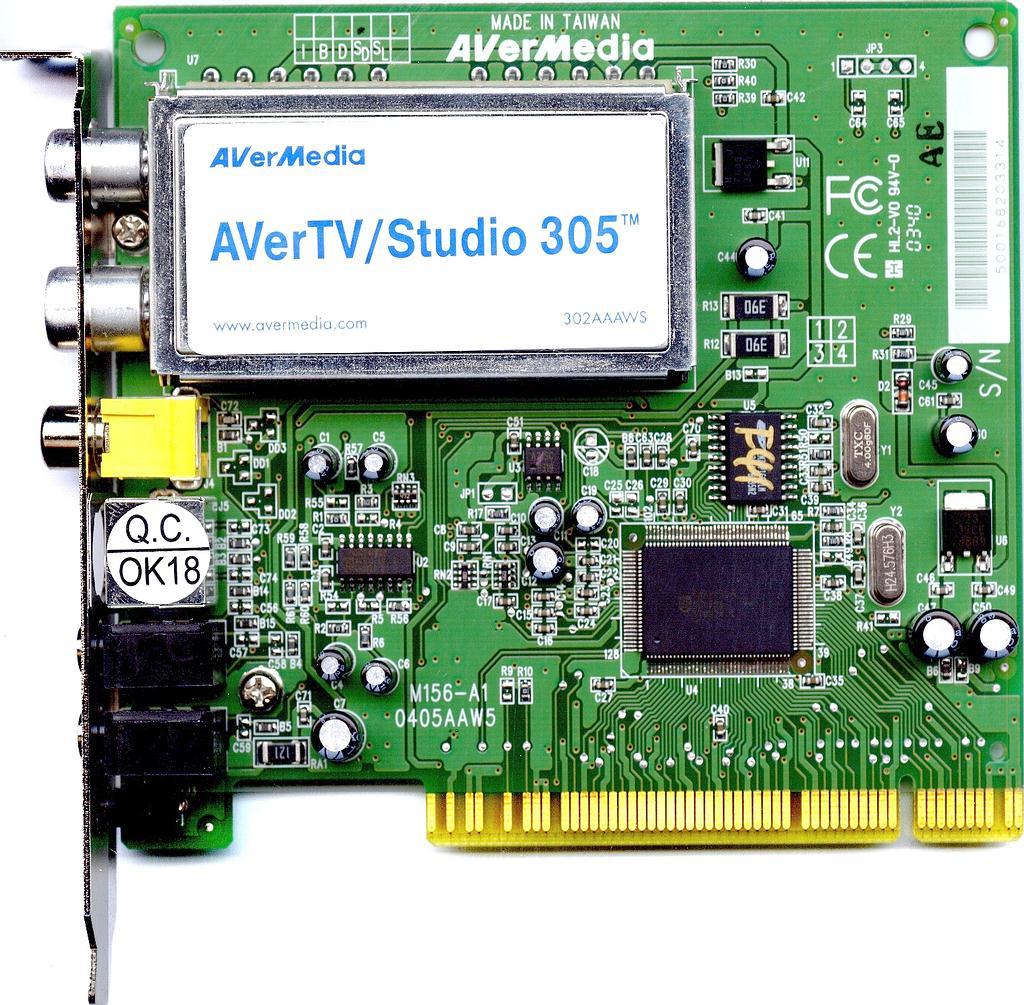 avermedia tv studio 305 скачать драйвер под windows 7