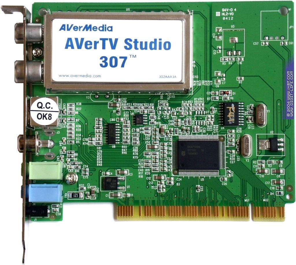 Скачать драйвер для avertv studio 307