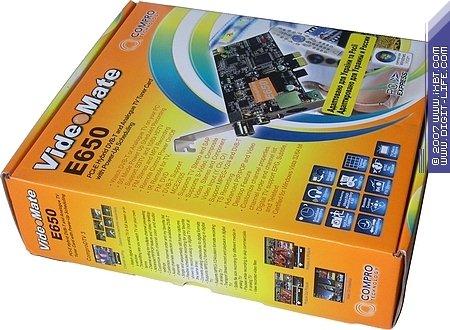 Compro VideoMate E650 TV FM