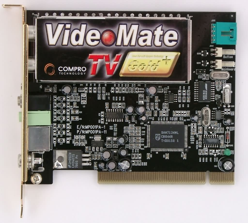 Compro VideoMate TV Gold Plus Tuner Review