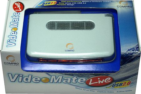 Compro Technology VideoMate Live USB20 TV Tuner Review