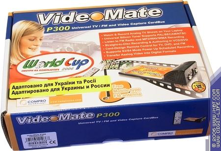 COMPRO VIDEOMATE P300 DRIVERS FOR WINDOWS