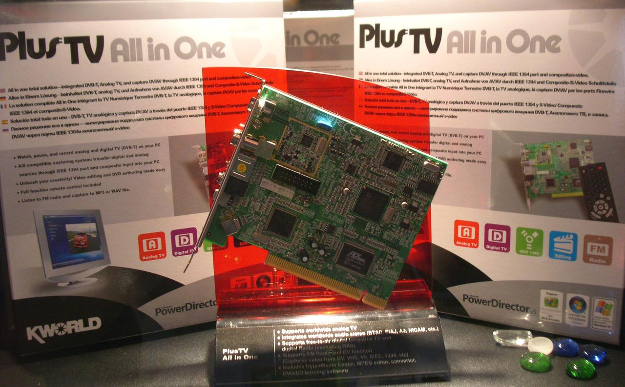 KWorld PVR-TV PE210 TV Card HyperMedia Center Treiber Windows XP