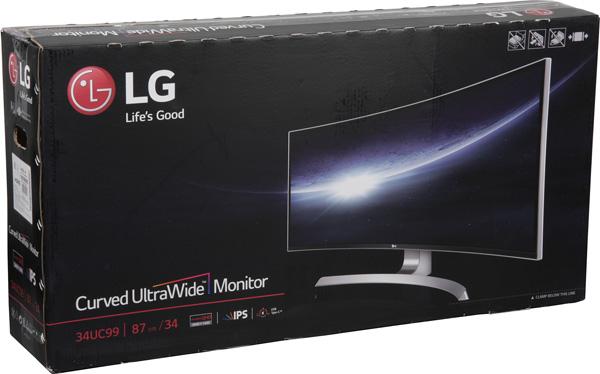 ЖК-монитор LG 34UC99, коробка