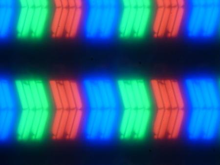 ЖК-монитор LG 34UC99, Микрофотографии матрицы