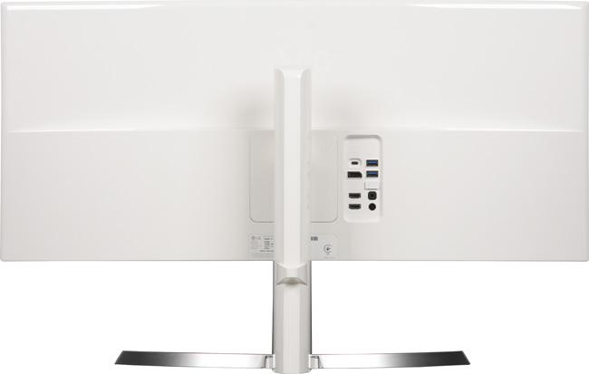 ЖК-монитор LG 34UC99, вид сзади