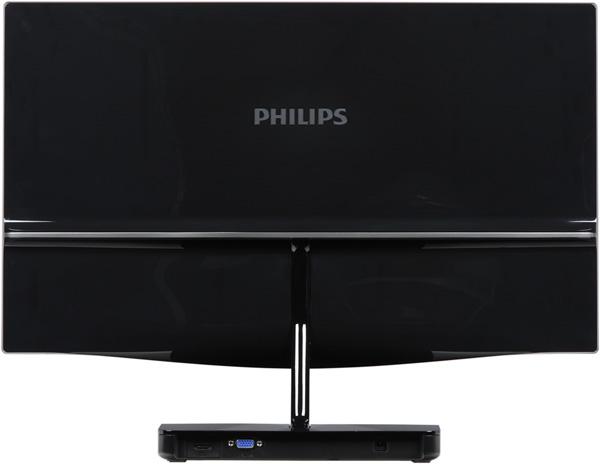 ЖК-монитор Philips 239C4QH, вид сзади