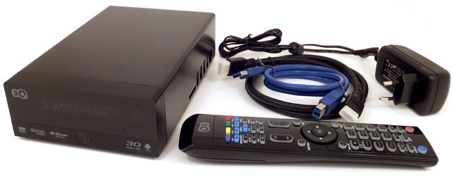 3D-медиаплеер 3Q F370HW