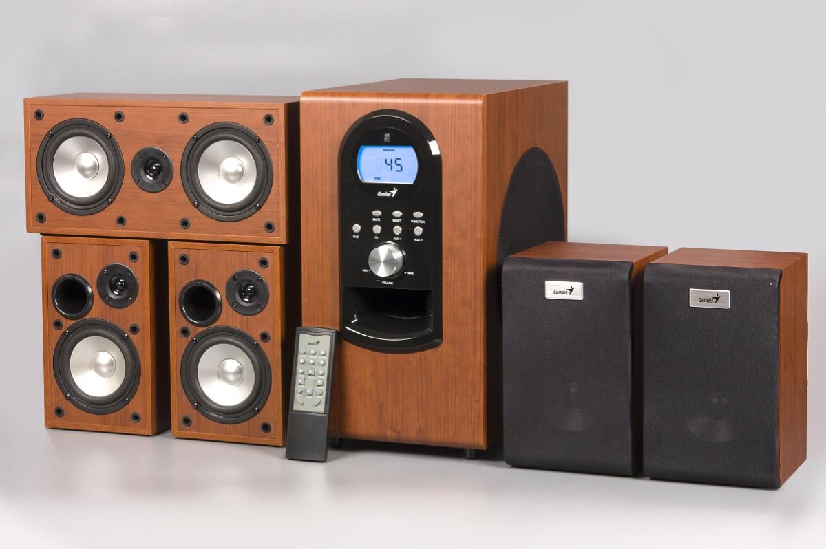 Акустическая система GENIUS SW-HF5 1 6 купить по