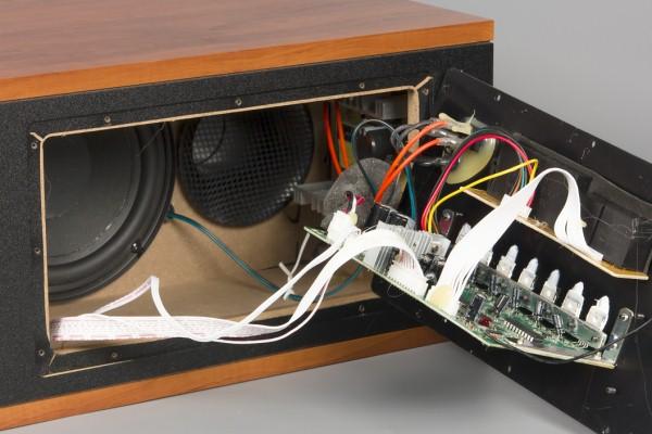 Схема внешнего усилителя звука