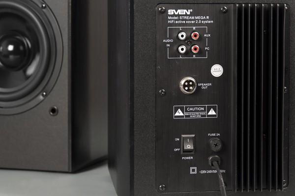 Задняя панель Sven Stream Mega R