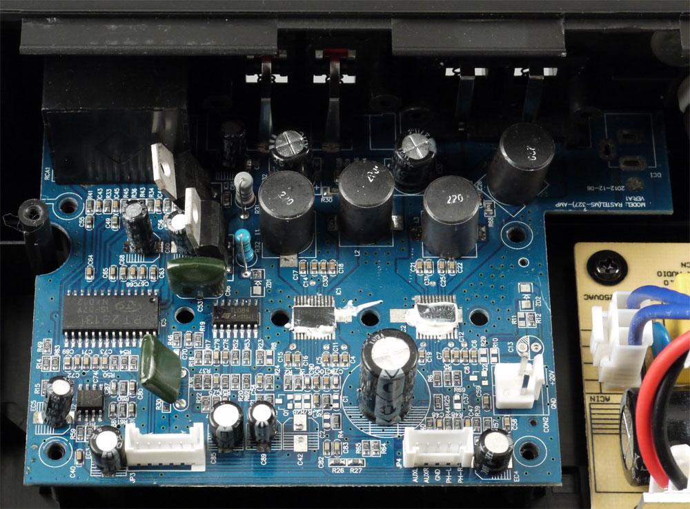 аудиопроцессором PT2313L;
