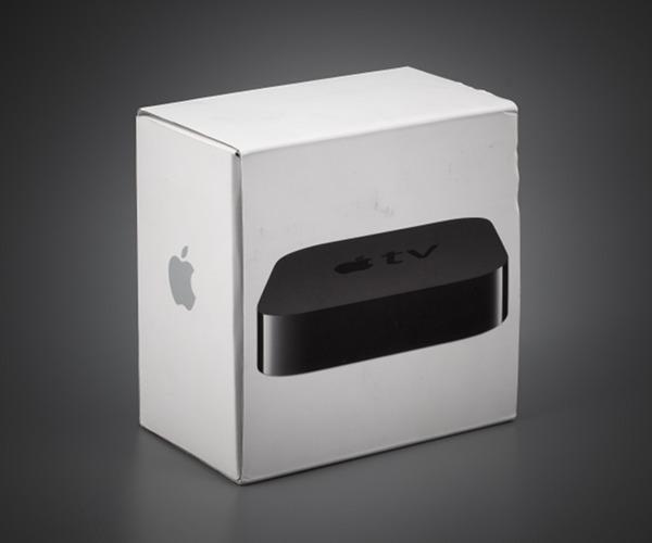 Упаковка Apple TV