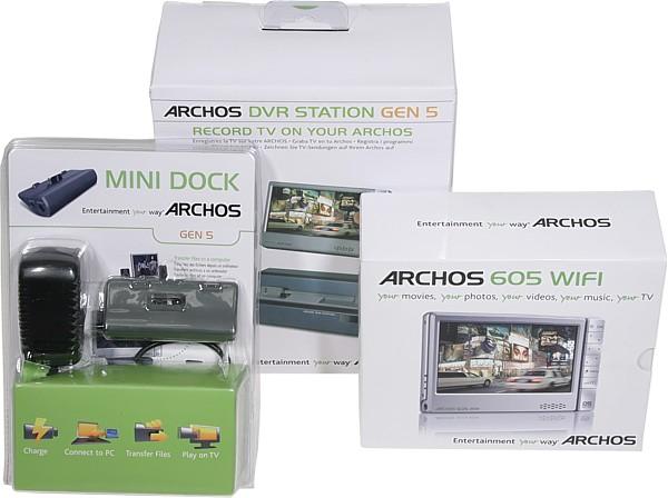 Archos 605 Wifi Plugins
