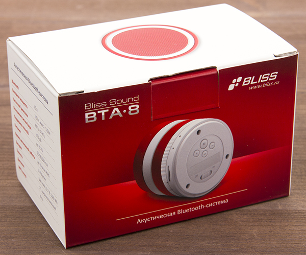 Коробка колонки Bliss Sound BTA-8