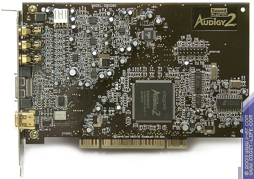 Creative audigy 2 CA0102-IAT sound card driver