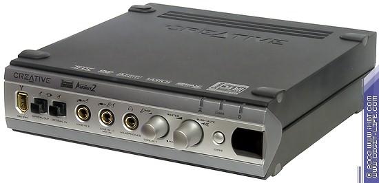 Программное обеспечение для sound blaster audigy