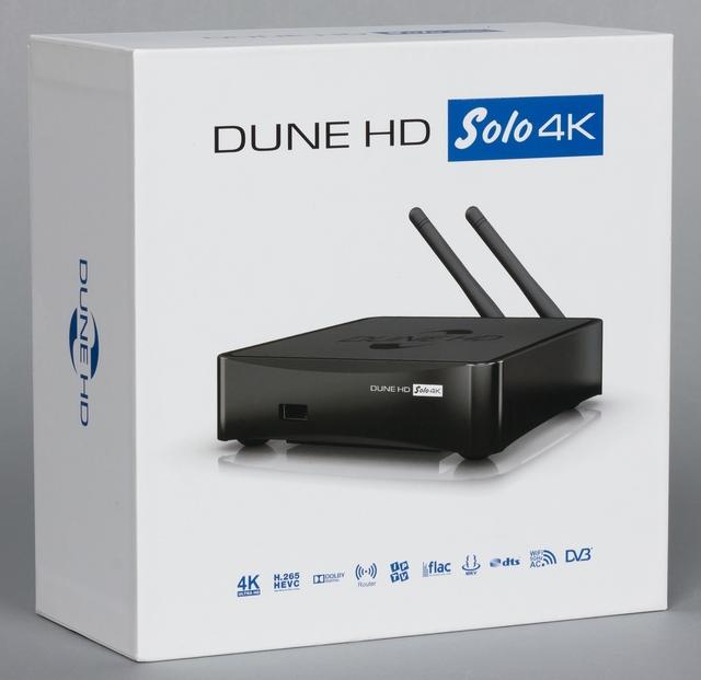 Упаковка плеера Dune HD Solo 4K