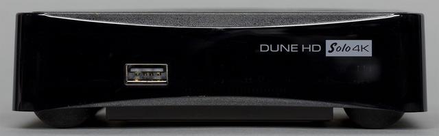 Внешний вид плеера Dune HD Solo 4K