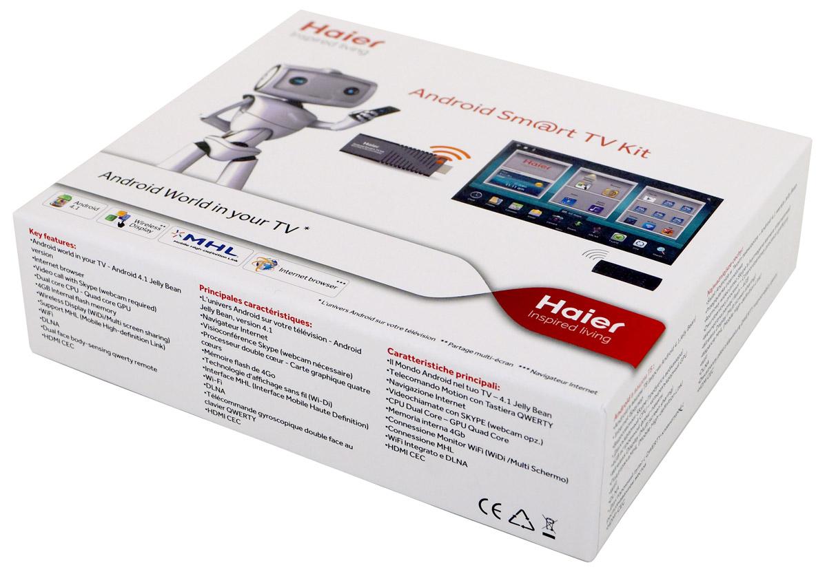 Приставка Haier Android Sm@rt TV Kit