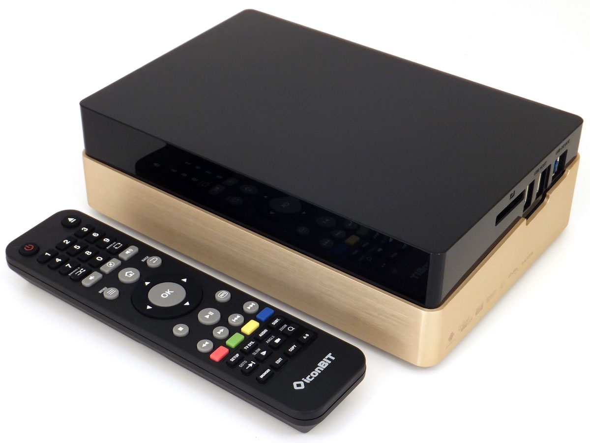 iconBIT XDS440 3D Media Player Windows
