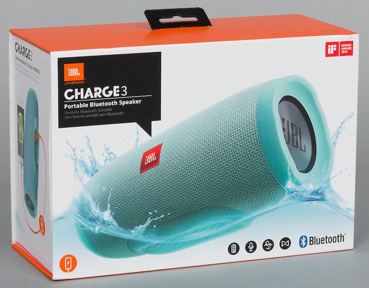 Коробка колонки JBL Charge 3