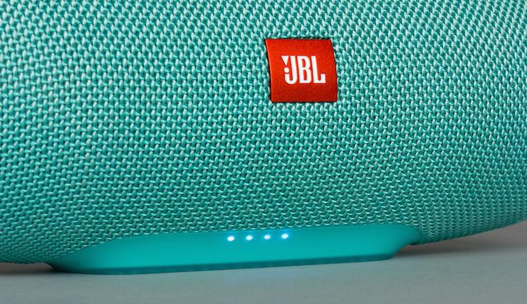 Дизайн колонки JBL Charge 3