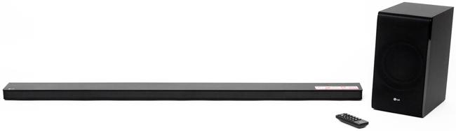 LG SJ8: внешний вид