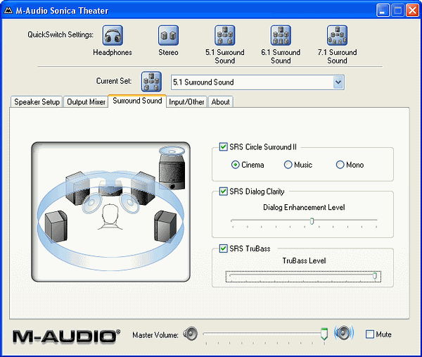 M-AUDIO SONICA THEATER DRIVERS UPDATE