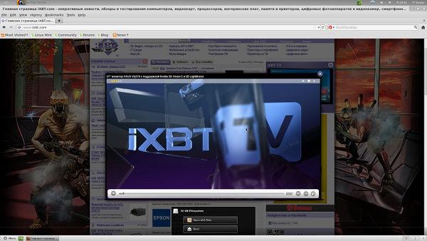 Скриншот с Мини-ПК Zotac ZBox-AD02