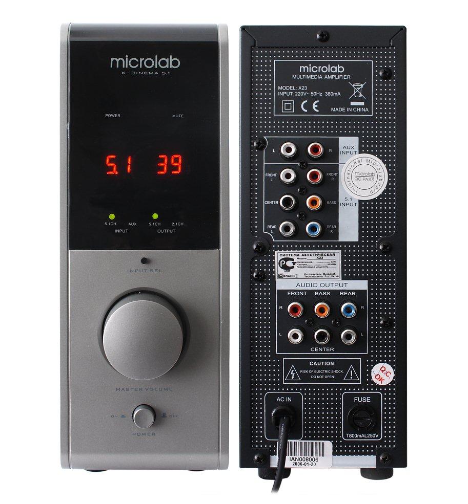Microlab x23 инструкция скачать