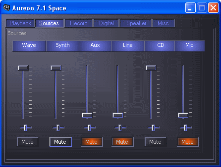 ������������� �������� ��� Aureon Space 5.1