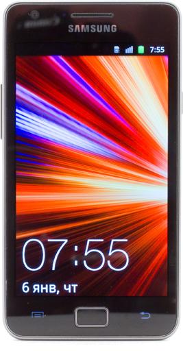 Обзор Samsung Galaxy S II. Лицевая панель коммуникатора