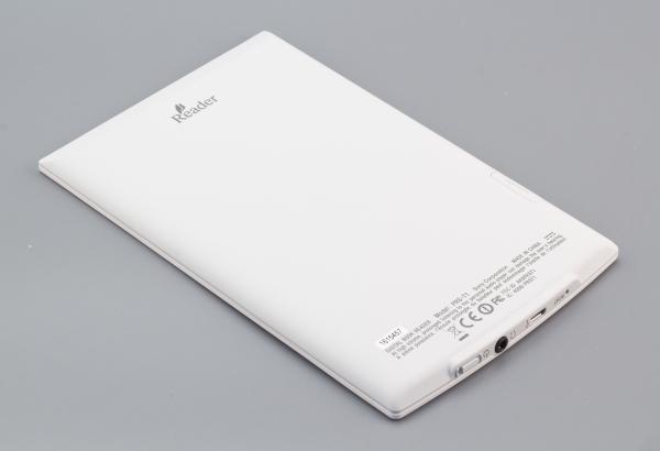 Sony Reader PRS-T1 - задняя поверхность