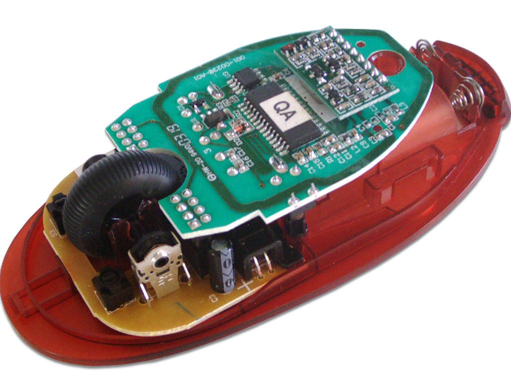 Ремонт оптической беспроводной мыши