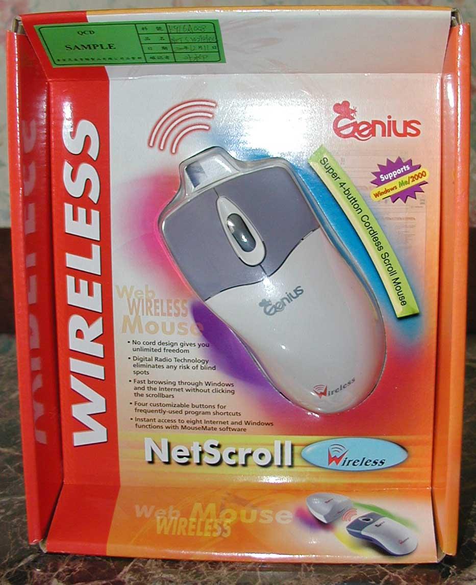 Genius NetScroll Wireless Windows 7 64-BIT