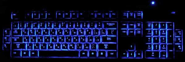 Как сделать подсветку для клавиатуры компьютера