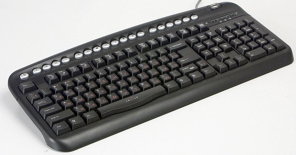 клавиатура оклик 320м инструкция