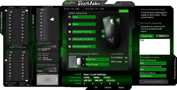DeathAdder Settings Program