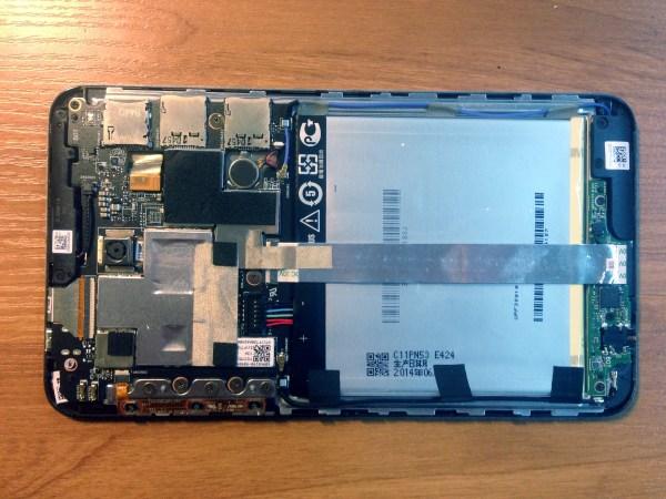 Производительность планшета Asus Fonepad (FE375CG)
