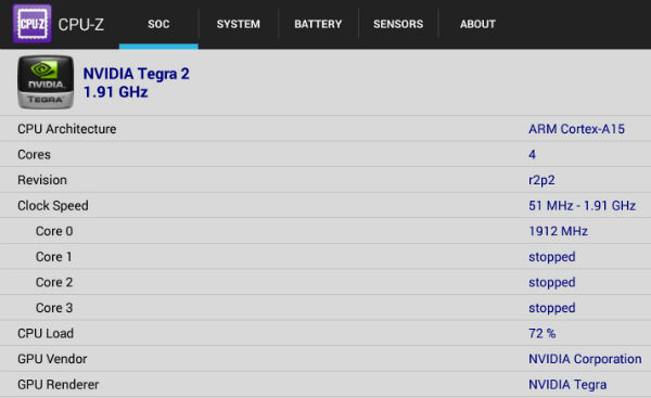 Скриншот Asus Transformer Pad Infinity