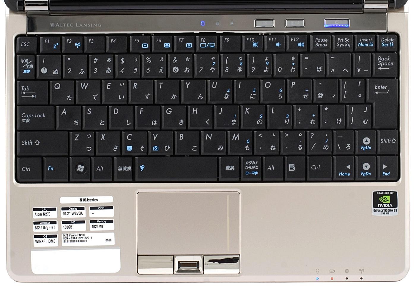 Клавиатура ноутбука спутана