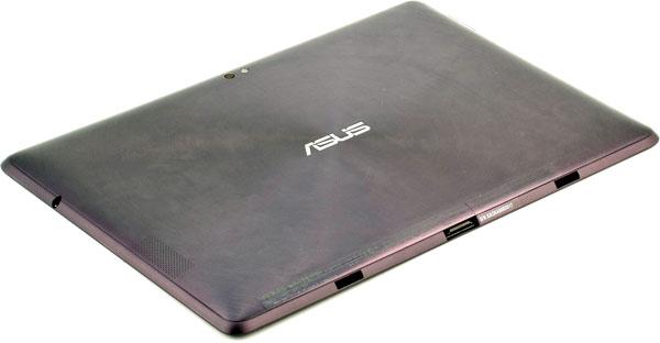 Вид задней поверхности планшета ASUS Eee Pad Transformer Prime