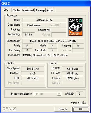 Amd athlon xp 2200
