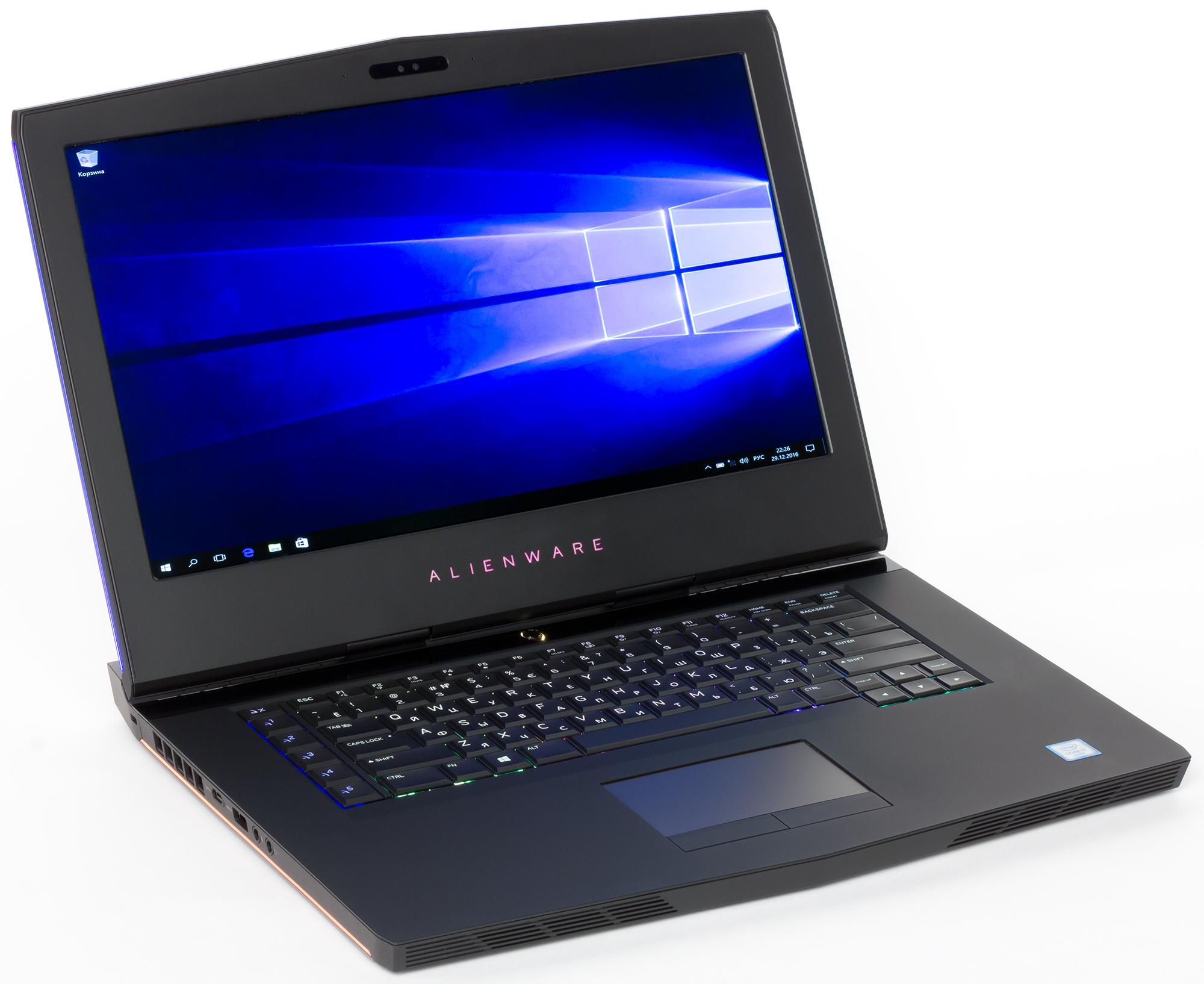 Dell Alienware 15 Logitech Keyboard/Mouse 64 Bit