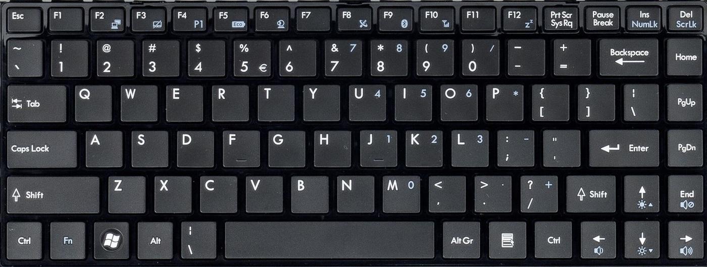 Здесь есть одна лишняя клавиша